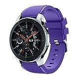 Riou Correa para Reloj,❤️para Samsung Galaxy Watch Correa de Banda de reemplazo de Correa de Reloj de Silicona Suave Pulseras de Repuesto 46mm