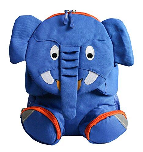 Emartbuy Kinder-Netter Intelligenter Rucksack-Schulkindergarten-Reisetasche - Elefant Königsblau