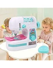 Kinderen naaimachine, elektrisch middelgroot naaimachinespeelgoed, simulatie mini-naaimachine Educatief interessant speelgoed cadeau voor kinderen meisjes kinderen