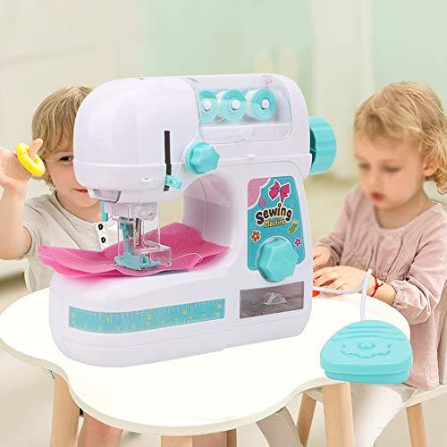 Fendysey Nähmaschinen-Spielzeug, interessantes elektrisches Lern-Kinder-Nähset, zart für Kinder ab 4 Jahren, Jungen und Mädchen, Geburtstagsgeschenke
