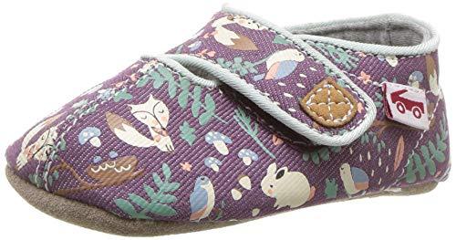 See Kai Run Girls' Cruz CRB Crib Shoe, Purple Woodland, S M US Infant