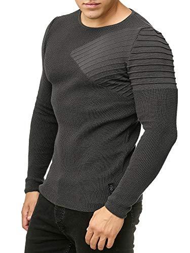 Red Bridge Arrow Shoulder - Jersey de punto para hombre antracita XL