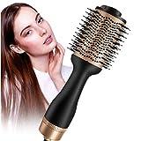 Assecador de pèl, raspall d'aire calent, *Upgrade 5 en 1, raspall d'estilisme amb *lonic negatiu, per a tota mena de cabell