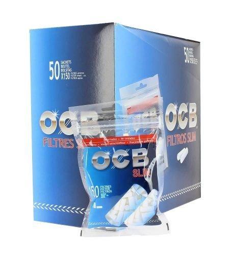 OCB Filtros Slim X 50 bolsitas