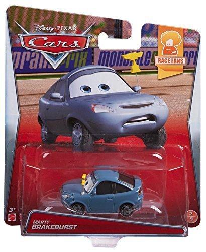 Disney Pixar Cars Marty Brakeburst Diecast voertuig van Mattel