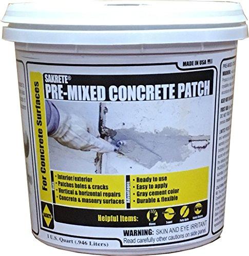KETER North America 60205045 Quart Pre-Mixed Concrete Patch