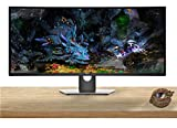 Dell U3818DW UltraSharp 38-inch WQHD 3840 x 1600 LED Backlit Curved Gaming Monitor with IPS, Vesa Compatible, Anti-Glare, Tilt, Swivel (HDMI, USB-C, USB 3.0, DisplayPort)