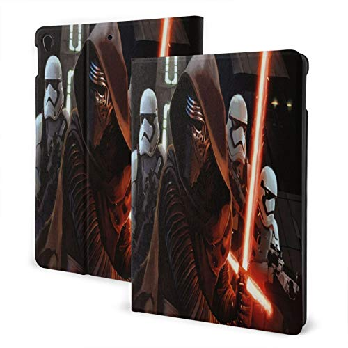 Slim Smart Case For Pad Air 3 2020, Pad 10.2 2020 , Pad 7th Generation Case Auto Sleep/Wake Cover Viewing/Typing Stand Modes Flexible Tpu Back-Storm Troopers_Kylo Ren_Star Wars_The First