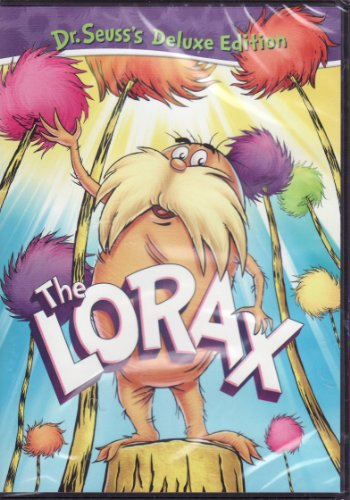 Dr Seuss's The Lorax DVD Includes Bookmark with Sunflower Seeds and 2 Dr Seuss Classics: Pontoffel Pock and His Magic Piano / Butter Battle Book