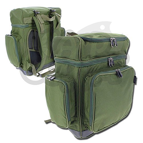 NGT Carp Coarse Fishing XPR Multi Compartment Rucksack Tackle Bag Waterproof