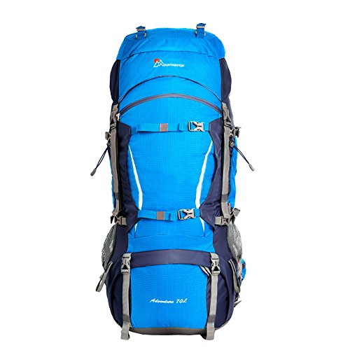 Oxking 70L Outdoor Hiking Trekking Camping Backpack Waterproof Mountaineering Bag Large Travel...