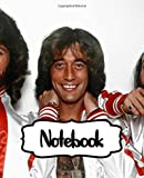 Notebook: Bee Gees Pop Music Group The Gibb Brothers Barry, Robin, and Maurice Gibb World's Best-Selling Artists of All Time, (Workbook and Handbook), ... Man, Woman Paper 7.5 x 9.25 Inches 110 Pages