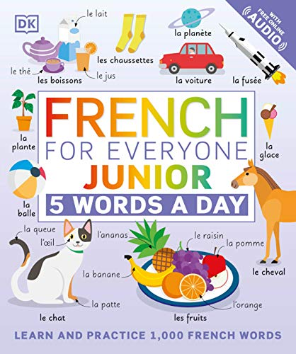 Compare Textbook Prices for French for Everyone Junior: 5 Words a Day  ISBN 9780744036787 by DK