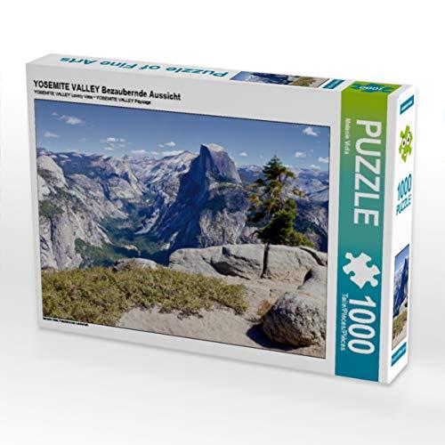 CALVENDO Puzzle Yosemite Valley Bezaubernde Aussicht 1000 Teile Lege-Größe 64 x 48 cm Foto-Puzzle Bild von Melanie Viola