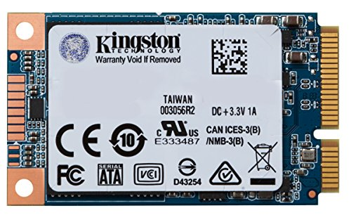 KINGSTON Digital SUV500MS/480G 480GB SSDNOW UV500 MSATA 3.5 Internal Solid State Drive