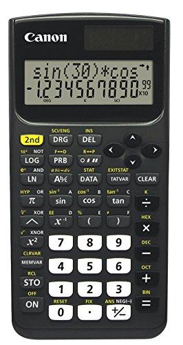Canon F-730SX Scientific Calculator with Protective Hard Case, 9.50in. x 5.45in. x 0.75in.