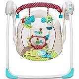 Silla de Mecedora eléctrica Bebé Multifuncional Musical Swing Plegable Portátil Portátil Portátil Swing Swing Swing Sking, Hamaca de Cuna para recién Nacido