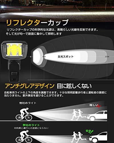 Helius『自転車ライト』