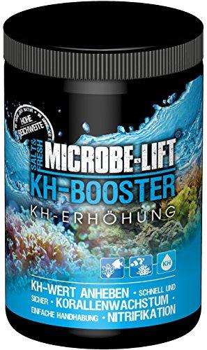 MICROBE-LIFT KH Booster – Karbonathärte KH Erhöhung für Süßwasser und Meerwasser Aquarium mit nützlichen Bakterien, 1000 g