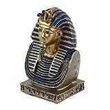 GARNECK Escultura de Faraón Egipcio Adorno para El Hogar Estatua Egipcia Antigua Estatuilla Coleccionable Decoraciones de Escritorio Decoración del Rey Faraón