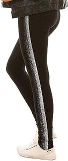 Dykmod - Leggings térmicos para niña con lentejuelas