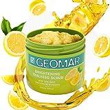 Geomar Thalasso Scrub Illuminant 600g mit Meeresalz und Zitronen-Extrakte - enthält nur natürliche Inhaltsstoffe - Peeling Körperpeeling - natürliche Helligkeit und...