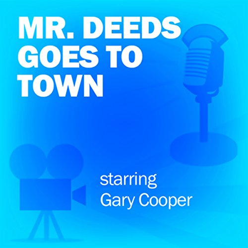 Mr. Deeds Goes to Town audiobook cover art
