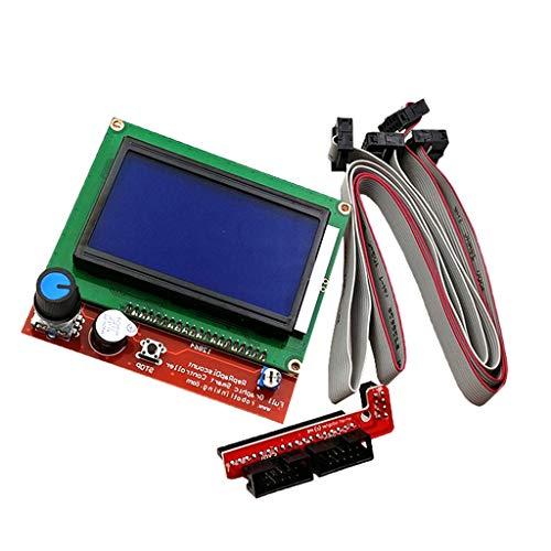 harayaa Kit de Accesorios de Impresora 3D, Pieza 12864, Módulo Controlador