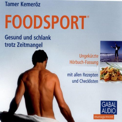 Foodsport audiobook cover art