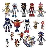 Figura de Sonic Ratón supersónico Ratón volador Nuevo erizo de cuarta generación Sonic Tals Nak Hand...