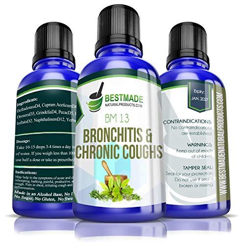 Bronchitis &Amp; Chronic Coughs Supplement Natural Remedy (Bm13)