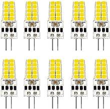bobotron 10 stuks G4 LED-lamp AC/DC12V-24V 3W LED G4 licht 20LED 360 stralingshoek licht 2835SMD vervanging 30W halogeenla...
