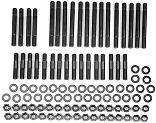 ARP 134-4306 Pro Series Black Oxide 12-Point Cylinder Head Stud Kit for Small Block Chevy with All Pro Head and Brodix/Rodeck Aluminum Block