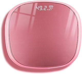 Báscula de grasa corporal Báscula de baño digital Báscula inalámbrica Báscula electrónica con superficie de pesaje hecha de vidrio de seguridad para la determinación exacta del peso hasta 180kg