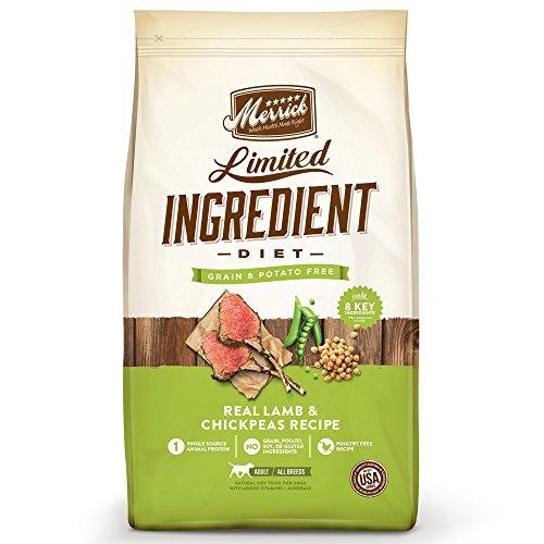 Merrick Dry Dog Food with Vitamins & Minerals for All Breeds , 22 lb, Lamb