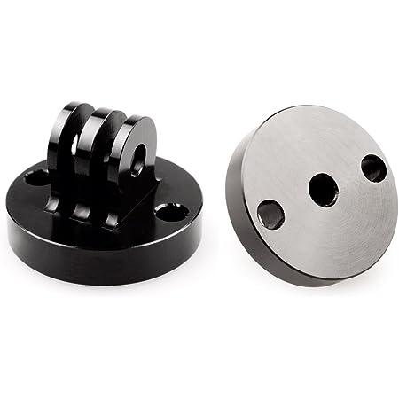 Stativadapter Für Gopro Aus Aluminium Schwarz Kamera