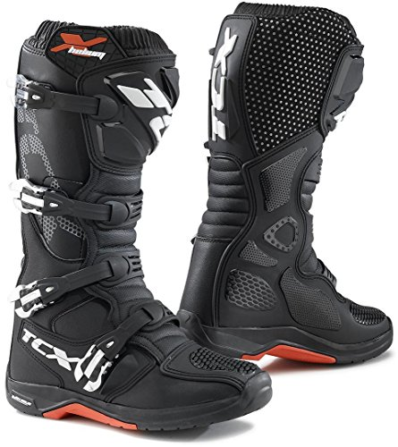 TCX 9671 X-Helium Michelin - Botas de moto para hombre, color negro, talla 43 EU