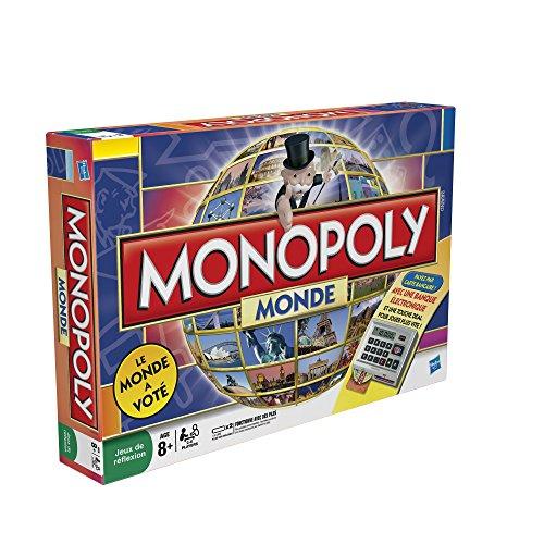 Hasbro - 16121010 - Jeu de Société Electronique - Monopoly Monde