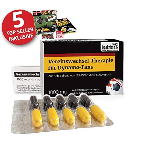 Dynamo Coffee to go-Becher ist jetzt das GROßE Saison Notfall Set für Dynamo-Fans by Ligakakao.de | Kaffee Becher Tasse Logo schwarz-gelb