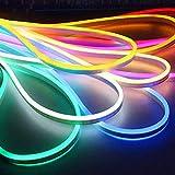 KiMiLIKE La Tira Flexible del LED SMD 2835 del Tubo de neón del LED Flex 120LED IP65 Lámpara de Cuerda Cuerda a Prueba de Agua para la Sala de Estar casera DIY de Vacaciones decoración del Festival