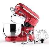 Ausbuy Stand Mixer, 900W 4.5L 6-Speed Tilt-Head Food Mixer, Kitchen Electric Mixer