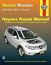 Nissan Murano 2003 thru 2010: All Models (Haynes Repair Manual)
