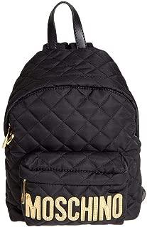 Luxury Fashion   Moschino Womens B7760882012555 Black Backpack   Fall Winter 19