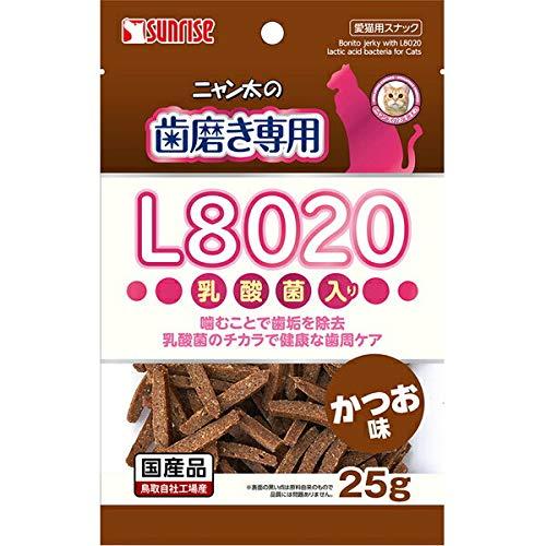 サンライズ『ニャン太の歯磨き専用 L8020乳酸菌入り かつお味』