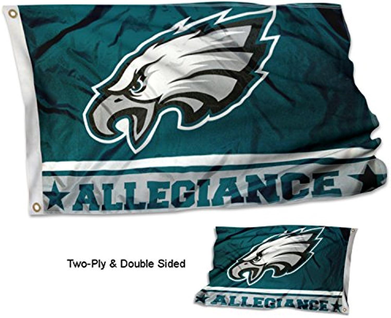 Philadelphia Eagles Double Sided Allegiance Flag