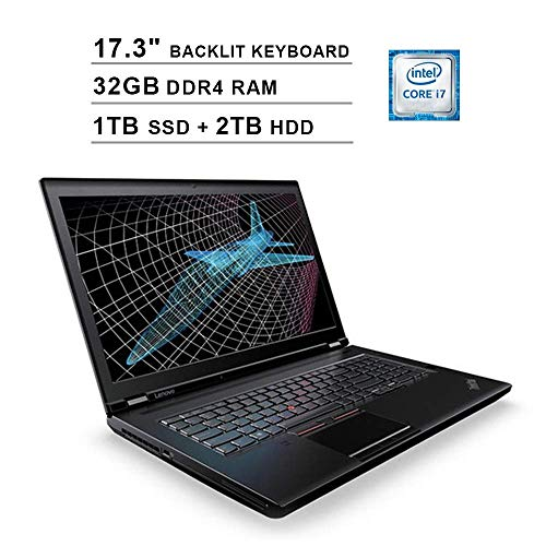 Why Choose 2020 Lenovo ThinkPad P71 17.3 Inch FHD 1080p Laptop (Intel 4-Core i7-7820HQ up to 3.90 GH...