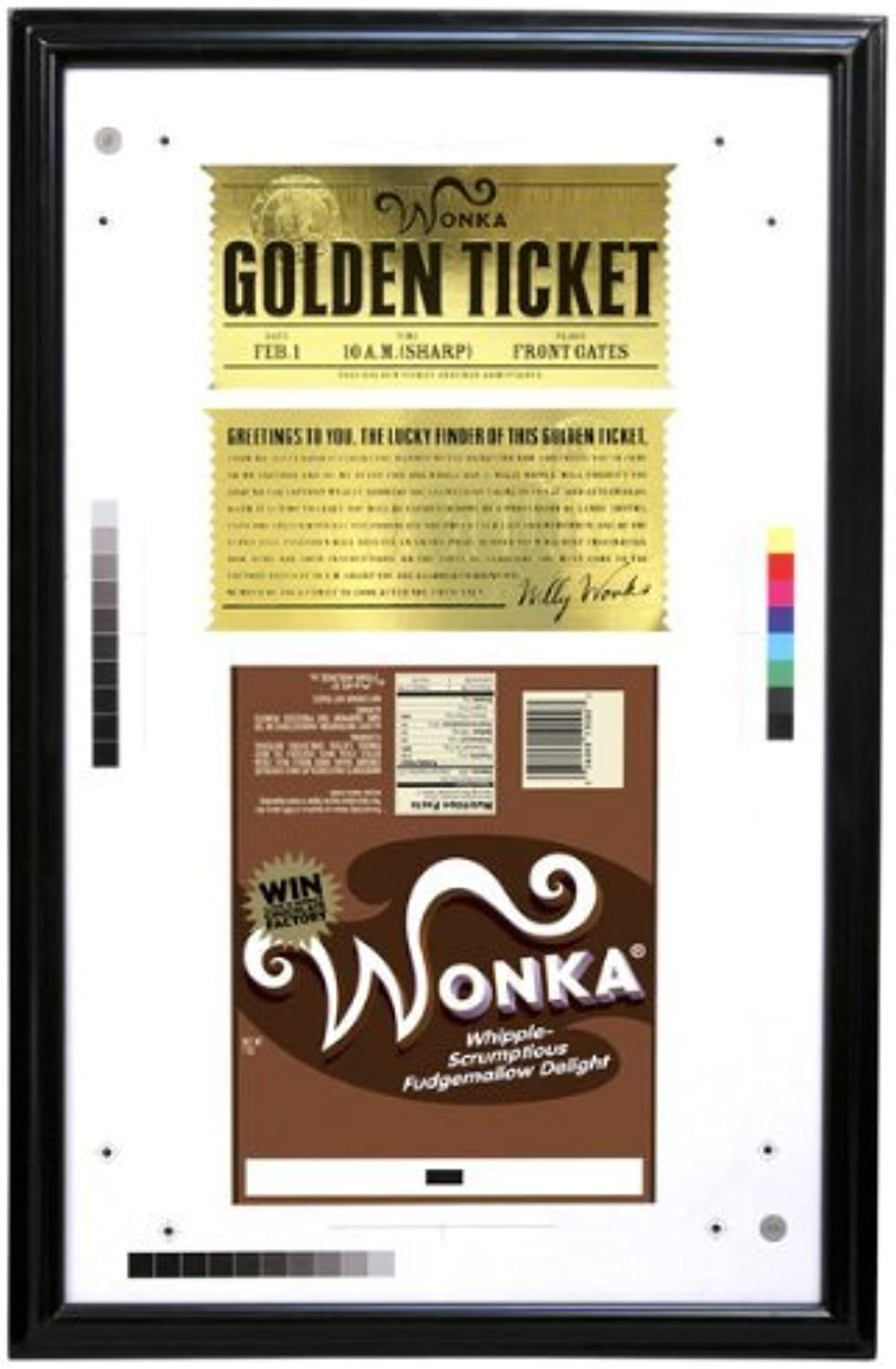 Charlie and the Chocolate Factory golden Ticket by NECA