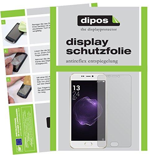 dipos I 2X Schutzfolie matt kompatibel mit Allview X4 Soul Style Folie Bildschirmschutzfolie