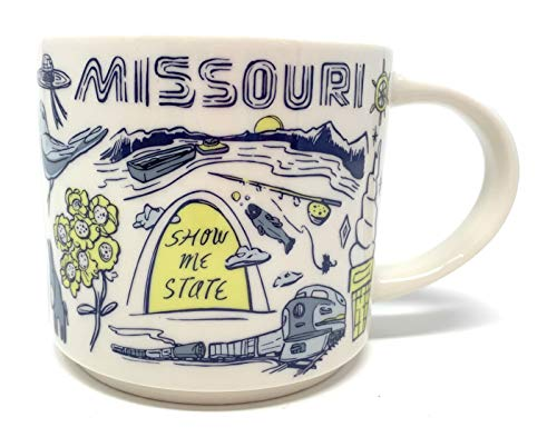 Starbucks 2018 MISSOURI Been There Collection Series Ceramic Coffee Cup