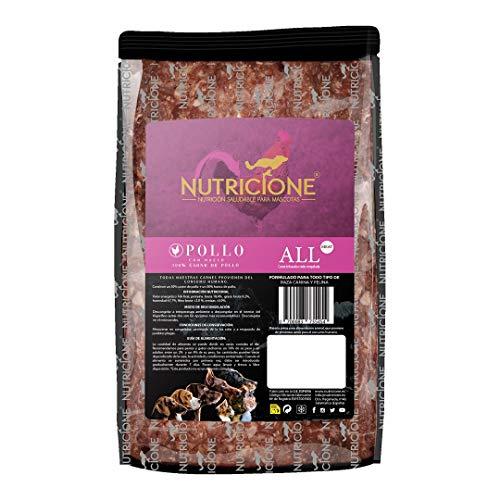 Nutricione Barf Carne de Pollo 9Kg congelada (9 Paquetes de 1Kg)